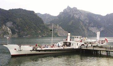 Dampfschiff Gisela Traunseeschifffahrt