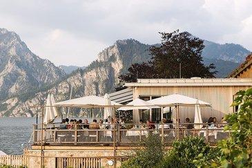 Terrasse Seehotel Das Traunsee