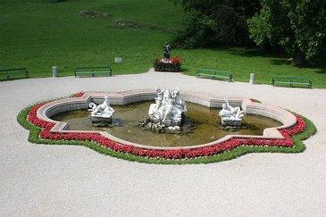 Springbrunnen, © Fam. Habsburg-Lothringen