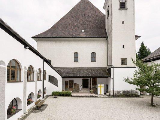 Innenhof im Kloster Traunkirchen