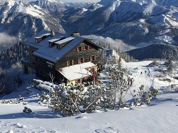 Einkehr auf der Kranabetthütte mit Panorama Blick