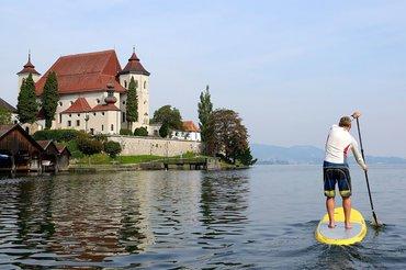 Stand up padding, (c) Karl Heinz Ruber