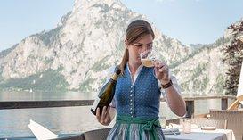 Weingenuss im Restaurant Bootshaus
